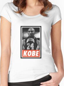 (BASKETBALL) Kobe Bryant Women's Fitted Scoop T-Shirt