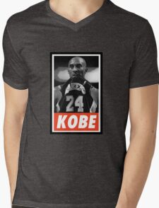 (BASKETBALL) Kobe Bryant Mens V-Neck T-Shirt