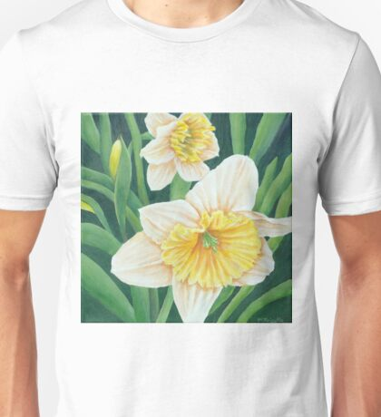 Spring Daffodils Painting Unisex T-Shirt