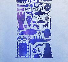 Doctor Who Tardis Collage by dylanwest2010