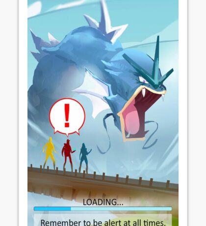 Pokemon GO Loading Screen Cover Sticker