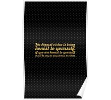 The Bigest... Inspirational Quote Poster