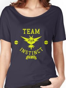 team instinct - pokemon Women's Relaxed Fit T-Shirt