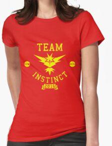 team instinct - pokemon Womens Fitted T-Shirt