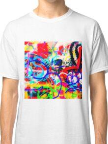 Crazy Graffiti Classic T-Shirt