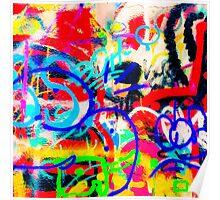 Crazy Graffiti Poster
