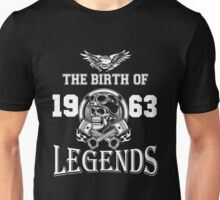 1963-THE BIRTH OF LEGENDS Unisex T-Shirt