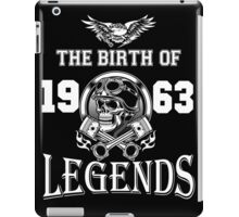 1963-THE BIRTH OF LEGENDS iPad Case/Skin