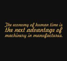 The economy of... Inspirational Quote Baby Tee