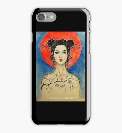 Oriental motif  iPhone Case/Skin