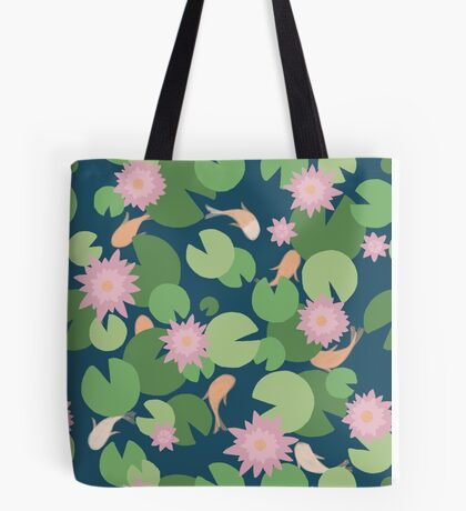 Fish Wishes Tote Bag