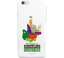 The League of Ridiculous Vegetables iPhone Case/Skin