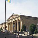 PMA Philadelphia Museum of Art  by Jeff Stroud