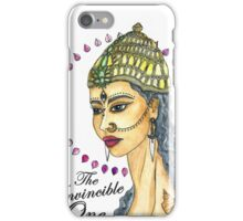 Fearless Goddess Durga iPhone Case/Skin