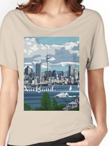 Auckland Harbour Women's Relaxed Fit T-Shirt
