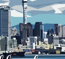 Auckland Harbour Sticker