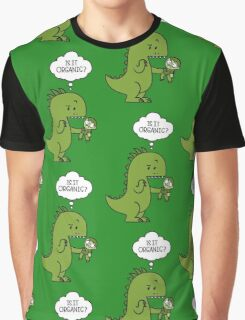 Jurassic World Funny - Is It Organic Graphic T-Shirt