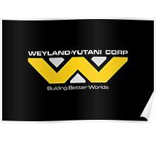 WEYLAND YUTANI CORP. Poster
