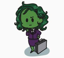Tiny She-Hulk by kehinki