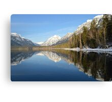 Lake Mcdonald in Glacier National Park Canvas Print