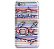 Route 66 3d line  iPhone Case/Skin