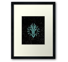 Darksiders Symbol (Blue) Framed Print