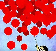 99 Red Ballons by AdmiralFlapPlak