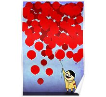 99 Red Ballons Poster
