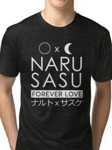 NaruSasu forever love Tri-blend T-Shirt