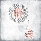 paper flower by Ingrid Beddoes