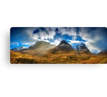 Mountainous landscapes Canvas Print