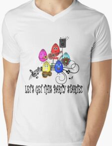 The Spiritoons- The Band- LET'S GET THIS PARTY STARTED Mens V-Neck T-Shirt