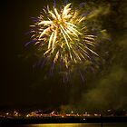 Fireworks at Murrells Inlet by TJ Baccari Photography