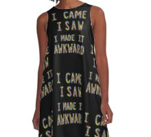 Socially Awkward  A-Line Dress