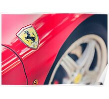 Ferrari Prancing Horse Poster