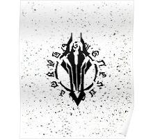 Darksiders Symbol (Black) Poster