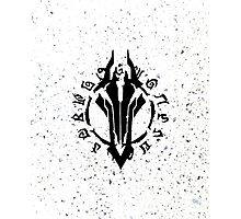 Darksiders Symbol (Black) Photographic Print
