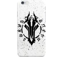 Darksiders Symbol (Black) iPhone Case/Skin