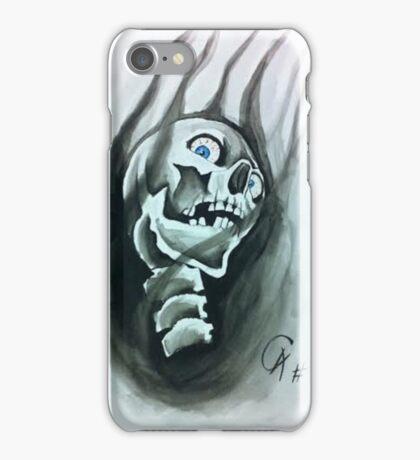 Smoking Skull iPhone Case/Skin