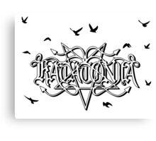 Katatonia Logo Canvas Print