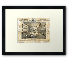 Chdaburn Brothers, optical, mathematical and philosophical instrument makers, 19th cent Framed Print