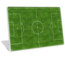 Football Pitch Laptop Skin