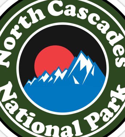 NORTH CASCADES NATIONAL PARK WASHINGTON BEAR HIKING CAMPING CLIMBING Sticker