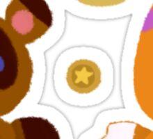Tiny Crossing Stickers Set 1 Sticker
