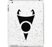 Irken Invader Symbol (Black) iPad Case/Skin