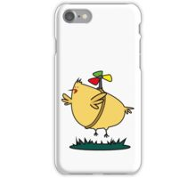 Flying chick iPhone Case/Skin