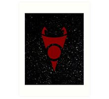 Irken Invader Symbol (Red) Art Print