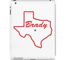 Brady Texas iPad Case/Skin