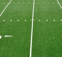 Football Field Hash Marks Sticker