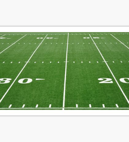 Football Field Hash Marks Sticker